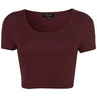 Basic Crop Tee - Jersey Tops  - Apparel