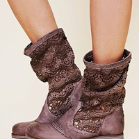 Free People Crochet Slouch Boot