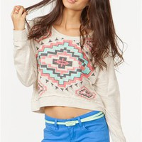 A&#x27;GACI Aztec Diamond Sweatshirt - New Arrivals