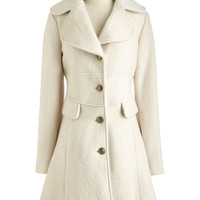 I Want Candytuft Coat | Mod Retro Vintage Coats | ModCloth.com