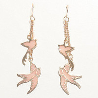 With Love From CA Dangle Bird Earrings at PacSun.com