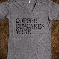 Coffee, Cupcakes, Wine - Jeans and Tees and Travel and Cakes