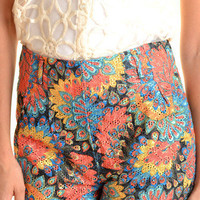 Kaleidoscope Shorts Bright - Online Shopping for Dress, Shop Dresses in Singapore &amp; International