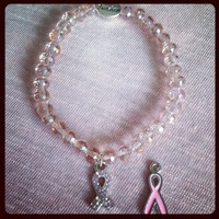 Breast Cancer Bracelet from La Fede Boutique