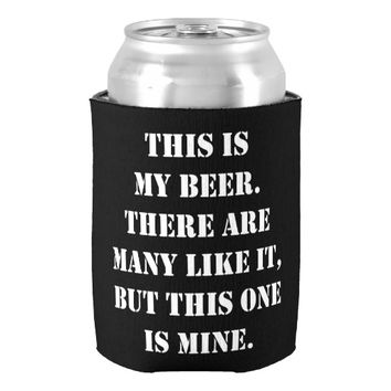 This Is My Beer - Can Cooler | Zazzle.com