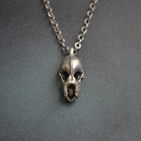 Hydra Minimus Dragon Skull Necklace