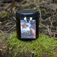 Dark Andromeda Soy Candle . 4 Ounces