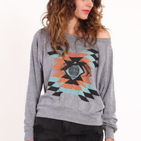Mayan Vision Printed Pullover - &amp;#36;39.00 : ThreadSence.com, Your Spot For Indie Clothing &amp; Indie Urban Culture