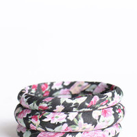 Rainy Days Floral Bangles - &amp;#36;13.00 : ThreadSence.com, Your Spot For Indie Clothing &amp; Indie Urban Culture