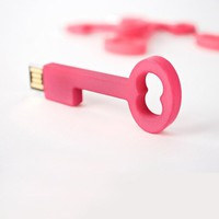 4GB USB Key Thumb Drive in Pink - Pop! Gift Boutique