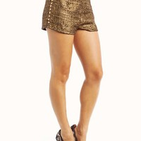 spiked-tweed-shorts BLACKGOLD CREAMGOLD - GoJane.com
