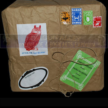 A Diagion Alley Custom Care Package Candy Package by DiagonAlley