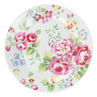 Cath Kidston Plates, Set of 4, Spray Flowers online at JohnLewis.com - John Lewis