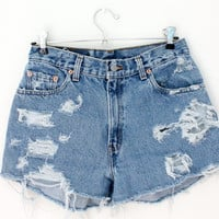 Sale - High Waisted Levis Shorts