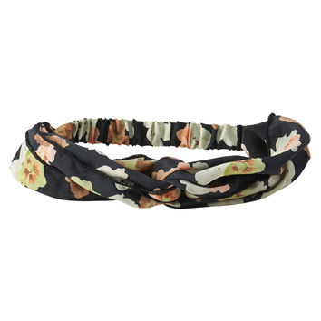 Aeropostale  Floral Headband - Black, One