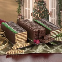 The Swiss Colony Dobosh Tortes Original Chocolate Dobosh Torte $20.95
