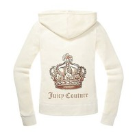 Juicy Couture | JC Crown Velour Hoodie