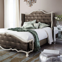 "Haute House - ""Tabitha"" Tufted Bed - Horchow"