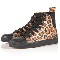 TREND Leopard Hi-Tops - Boots  - Shoes