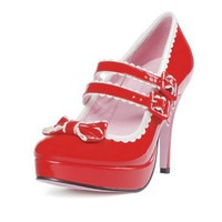 Dottie Shoes (Red/White) Adult, 33531