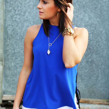 About That Blue Tank