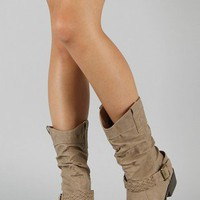 Tasha-1 Round Toe Cowboy Boot