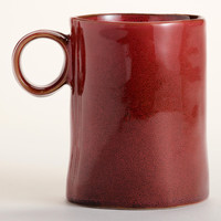 Persimmon Reactive Glaze Mugs, Set of 2 | World Market