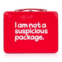 Waldo Pancake Luchbox - I am not a suspicious package.