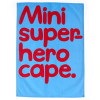 Waldo Pancake T-Towel - Mini super-hero cape.