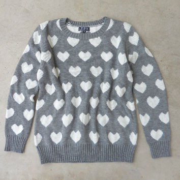 Amour Knit Sweater [6700] - $34.00 : Feminine, Bohemian, & Vintage Inspired Clothing at Affordable Prices, deloom