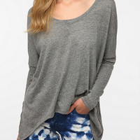 Daydreamer LA Long-Sleeved Peaked Hem Tee