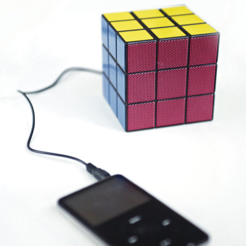 Rubik Speaker ? Cox & Cox, the difference between house and home.