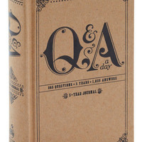 QA a Day Five Year Journal