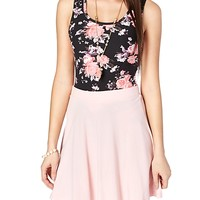 Soft Brushed Floral Tank Top