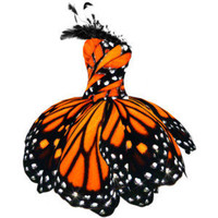Monarch Butterfly Dress - Polyvore