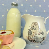 Mole cream jug by liannemellor on Etsy