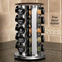 Filled Spice Rack - Fresh Finds - Kitchen &gt; Food Prep
