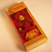 Vintage Christmas Doll Ornament from Sears Roebuck &amp; Co.