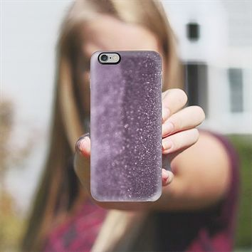 Glitter and lights purple iPhone 6 Plus case by VanessaGF   Casetify