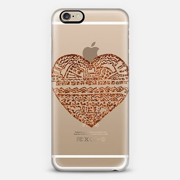 Ethnic heart with glitter iPhone 6 case by VanessaGF | Casetify