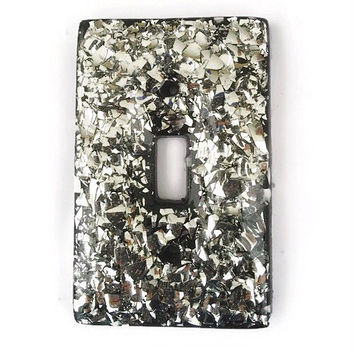 Broken Mirror Glass Light Switch Cover/Plate