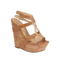 Womens Shi by Journeys Rattle Wedge, Tan  Journeys Shoes