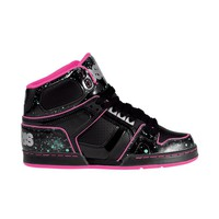 Womens Osiris NYC 83 Slim Ultra Skate Shoe, BlackPink  Journeys Shoes