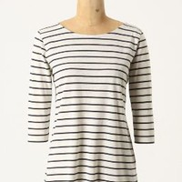 Dipped Stripes Tee - Anthropologie.com