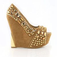 Gem Block Wedges | Trendy Wedges at Pink Ice