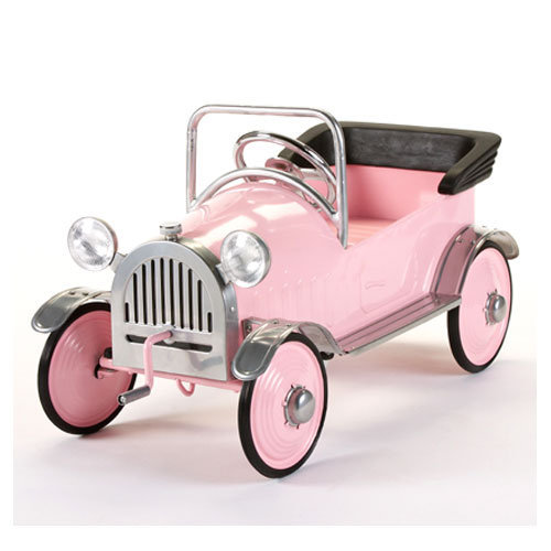 Roadster Pedal Car In Pink : Toys For From Posh Tots
