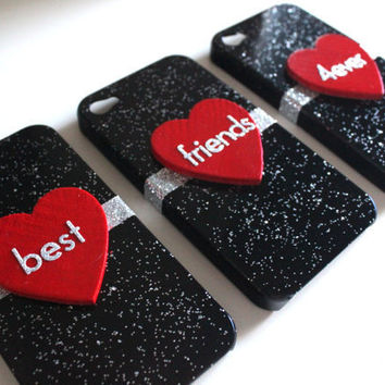 Best Friends iPhone 4/4S 3 Case Set