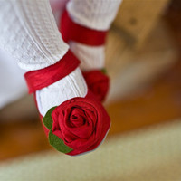 Roses are red Silk rostette Maryjanes Fall winter by GraciousMay