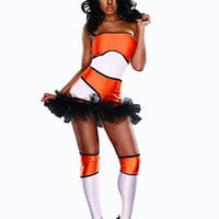 Naughty Nemo Costume | Sexy Clothes Womens Sexy Dresses Sexy Clubwear Sexy Swimwear | Flirt Catalog