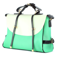 Mint Candy Color Foldover Jelly Bag - New Arrivals - Retro, Indie and Unique Fashion